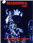 MADONNA RAW - (GERMAN) EARLY CONCERT 1981/82 PHOTO BOOK